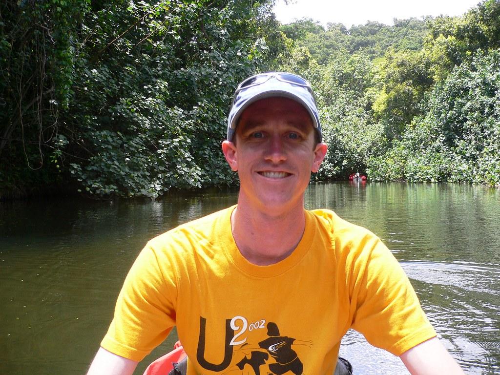 Kayaking The Wailua River