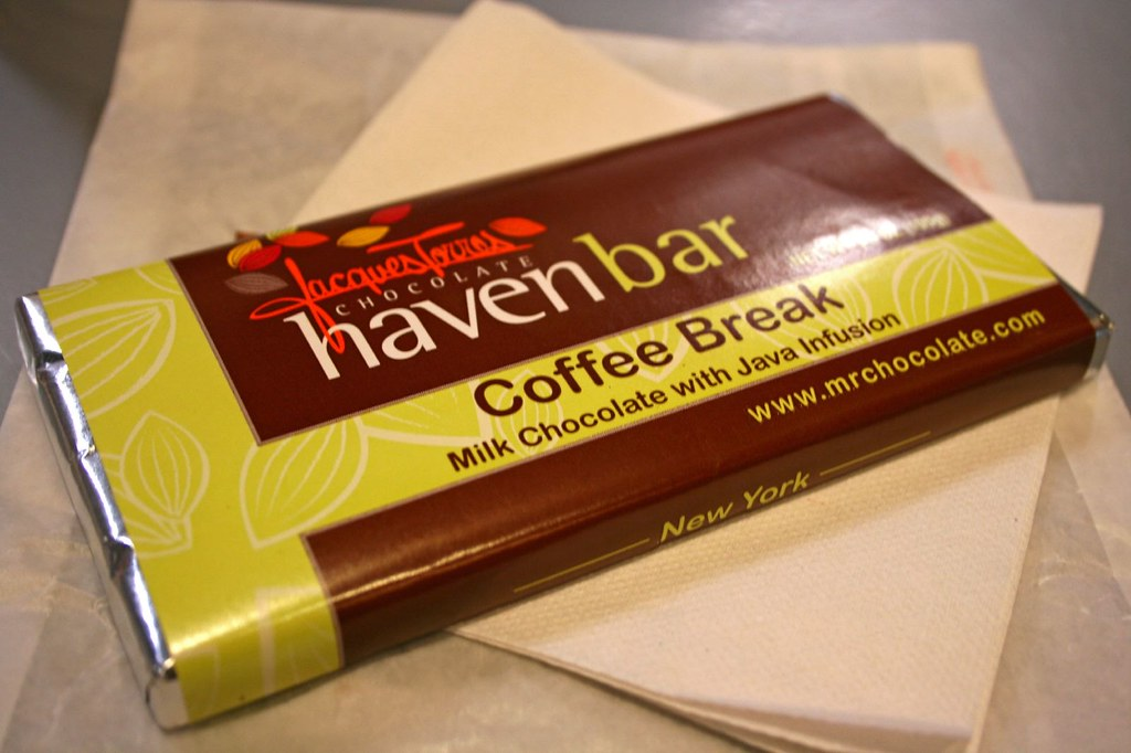 J.T.'s Coffee Break Chocolate Bar
