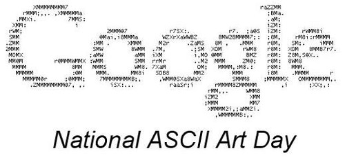 ASCII ART Day