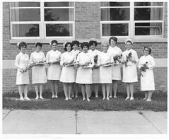 Early Practical Nursing Class at Randolph Hospital-1964-1966? (Library @ Randolph Community College) Tags: north carolina asheboro randolphcommunitycollege randolphindustrialeducationcenter