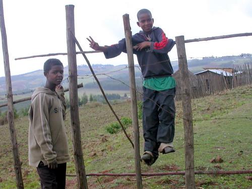 Niños de Entoto (Addis Abeba Etiopía)