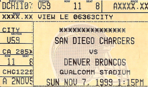 Broncos @ Chargers