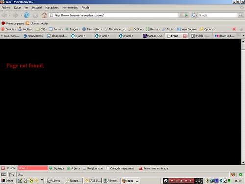 Error inofensivo en Joker Web