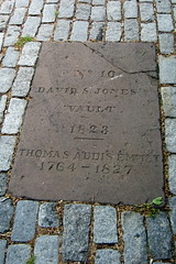 NYC - East Village: St Marks Churchyard - David S. Jones Vault, Thomas Addis Emmit by wallyg, on Flickr