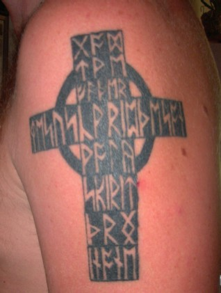 runic tattoos. Rune Tattoos 002