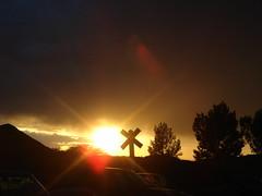 Santa Fe Sunset (Silly Jilly) Tags: newmexico santafe taos tomasitas