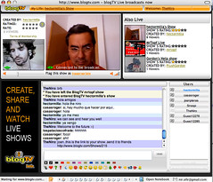 Hector Milla  and joan planas live at blogTV.com