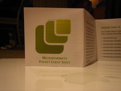 Microformats pocket cheat sheet