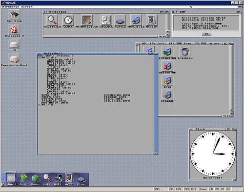 AmigaOS 3.9 on WinUAE