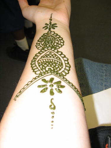 Day 54: Henna Tattoo by Sarah Mae.