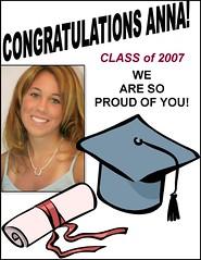 Graduation (Tabbie-cats) Tags: family anna senior beautiful proud happy diploma daughter graduation teenager congratulations classof2007 publisher congrats yaaaaay flickrgold impressedbeauty