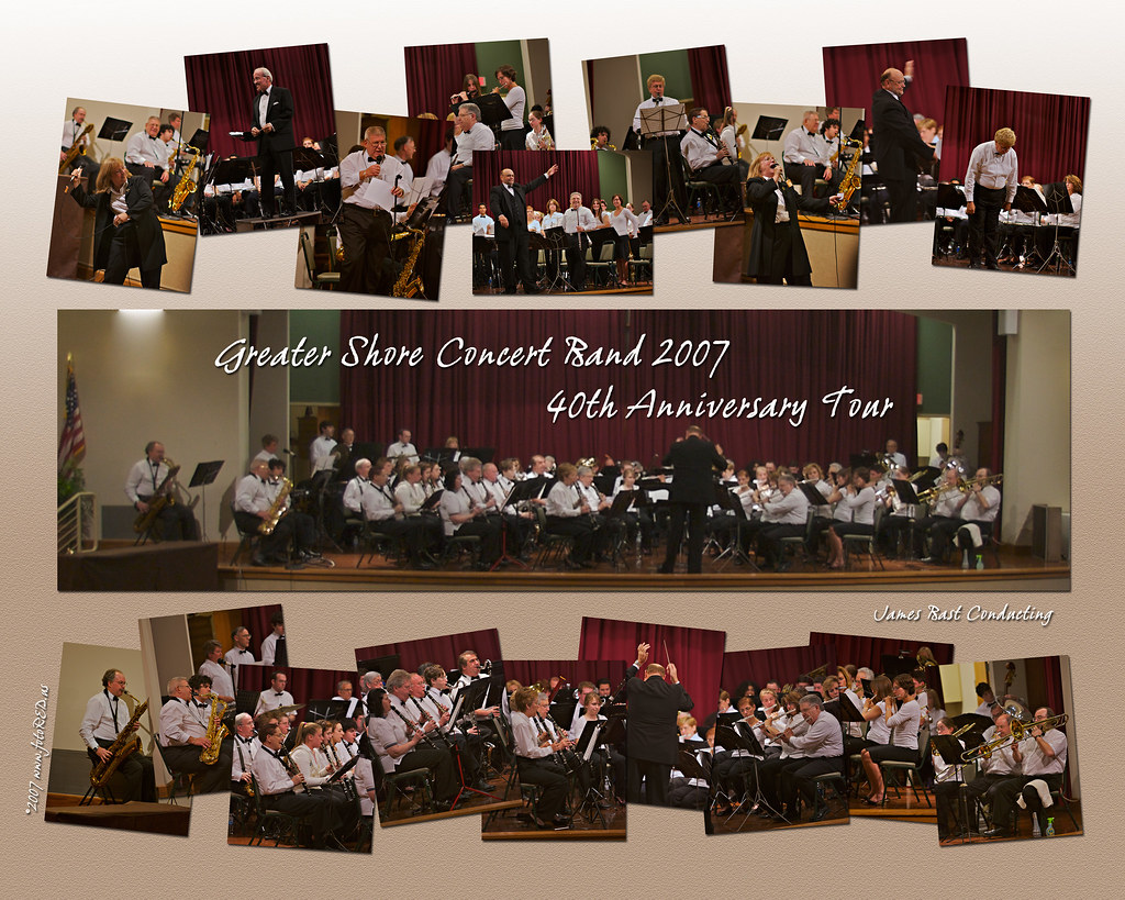 Band Picture of 40th Concert
