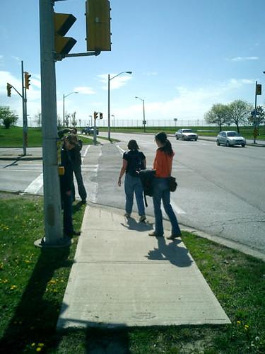 Short sidewalk