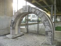 22 南橋大橋 01.ちんちん山とトンネルの石組み