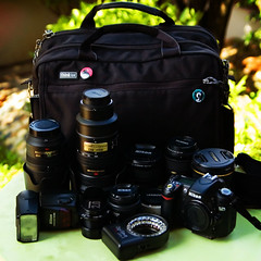 Latest Family Portrait (kktp_) Tags: camera bag lens nikon nikkor thinktank equipments urbandisguise50