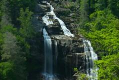 Whitewater Falls in Transylvania County, NC (almassengale) Tags: longexposure mountains water nc sony south northcarolina transylvania appalachians whitewaterfalls movingwater flowingwater sonya100