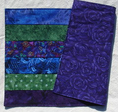 ocean classic mats back (suchprettycolors) Tags: ocean blue green kitchen purple craft housewares dining patchwork placemats linens cooltones jeweltones