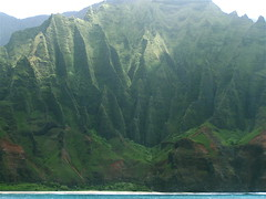 Na Pali Coast (GingerP43) Tags: ocean trip travel cruise vacation cliff mountain mountains green nature landscape island hawaii coast pacific cliffs valley kauai napali napalicoast 5photosaday