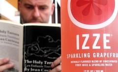 Drink Izze Sparkling Grapefruit Fruit Juice!!