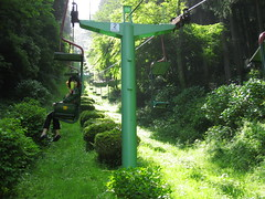 Green (jasonkrw) Tags: green japan shimane tsuwano chairlift 津和野