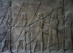 Assyrian Relief from Kalchu - by oligopistos