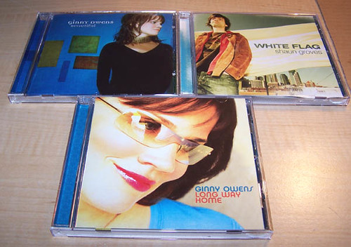 Great contemporary Christian cds i got today