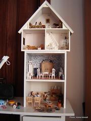 My dollhouse (Anna Amnell) Tags: miniatures miniatura dollhouse dollshouse munecas puppenhaus nukkekoti nukketalo
