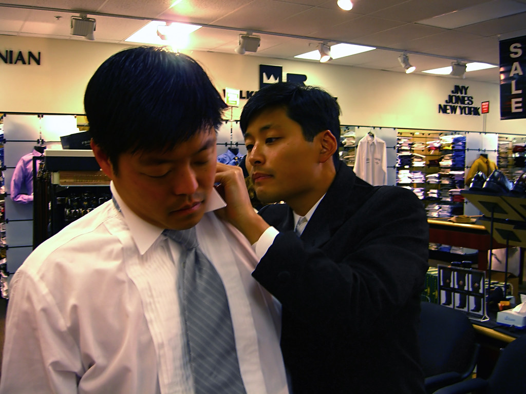 Tie adjustment