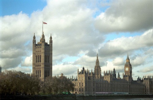Big Ben & House of Lords, London UK