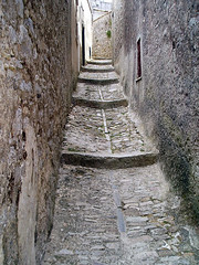A Typical Street in Erice (DoogsATX) Tags: 2005 july summer vacation cruise sicily erice