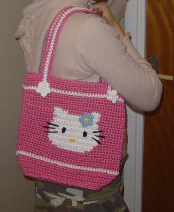 Ravelry Hello Kitty Bag Pattern By Linda Stoll