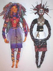 Art Dolls (Terry.Tyson) Tags: art polymerclay artdoll fiber t2