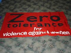 Tolerancia cero para la violencia contra las mujeres - by Gabby De Cicco