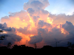 War of the Worlds ([ peejay ]) Tags: sunset sky favorite clouds fave waroftheworlds angryclouds burningclouds