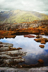Summit, County Galway, Ireland (Seven Seconds Before Sunrise) Tags: travel ireland galway water rural landscape europe delphi eire connemara leenane leenaun