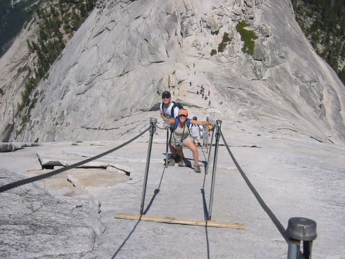 Half Dome ladder
