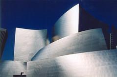 Disney Concert Hall, Los Angeles (Bill in DC) Tags: california film topv111 wonderful wonder la losangeles favorites gehry fv5 eos3 disneyhall views300 favorites25 bluelist