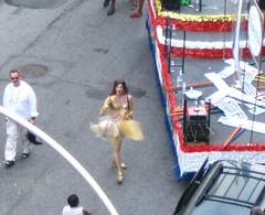 He's Just Tu-Tu Annoyed IMG_0438 (Lanterna) Tags: nyc gay newyork gold costume crossdressing parade gaypride tutu lanterna annoyed greenwichvillage canonpowershota75