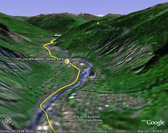 Tour de France Google Earth Maps
