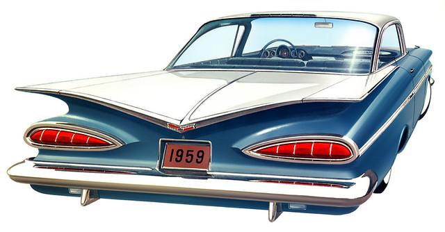 chevrolet impala 1959 car