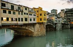 Ponte Vecchio at Dusk (gsgeorge) Tags: longexposure bridge italy river florence dusk firenze arno pontevecchio geoffgeorge gsgeorge geoffreygeorge gsgfilms gsgfilmscom