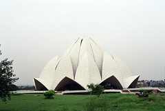 "Delhi - ""Lotus Temple"" (Nimrod Bar) Tags: india delhi travel lotus temple bahi religious"