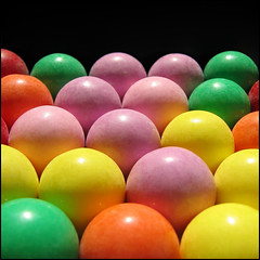 We still have gumballs! (joyrex) Tags: pink red orange abstract green texture colors yellow topv111 1025fav catchycolors pattern purple candy structure explore sweetscandy gumball gumballs