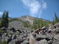 whistlers mountain mid climb