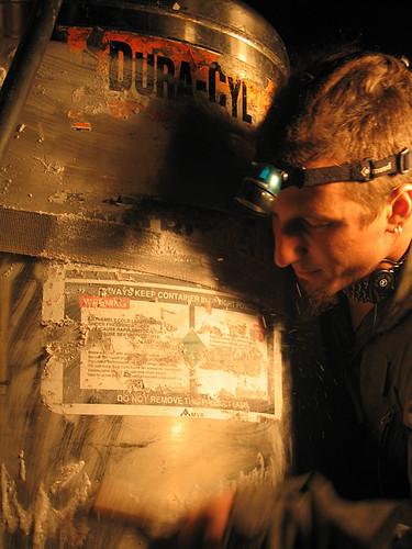Nitrogen tank ice condensation (2)