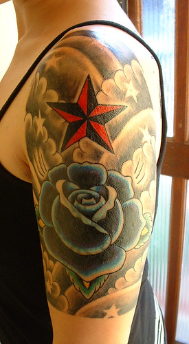 Nautical Star Tattoo Sleeve