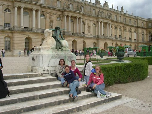 After our picnic at Versailles