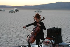 Cello... er not Viola (DantesFedora) Tags: simnuke nevade desert