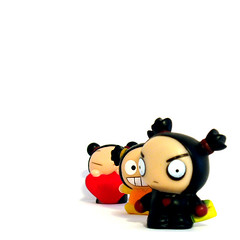 little people (macca) Tags: littlepeople inanimate pucca whiteground
