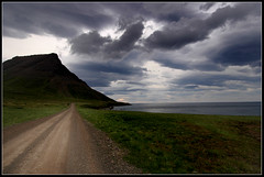 The icelandic country road leading to nowhere (eir@si) Tags: iceland hornstrandir2005 ath imba notsobad jbraut